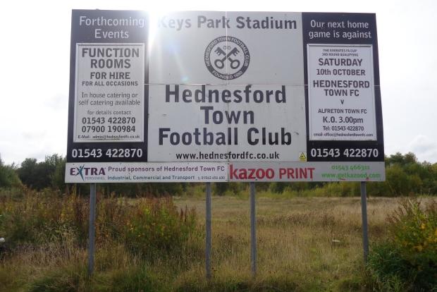hednesford v alfreton...