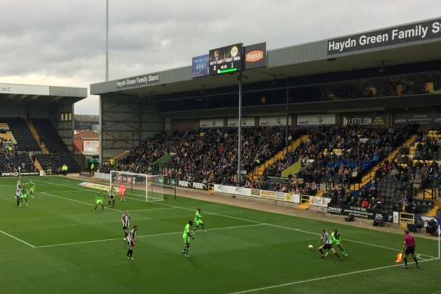 notts county v forest green...